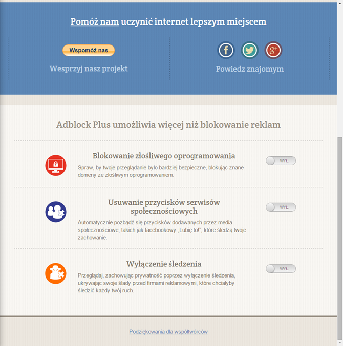 Blokovanie reklamy chrome download