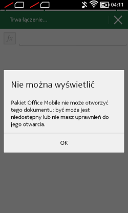 Nokia X - office