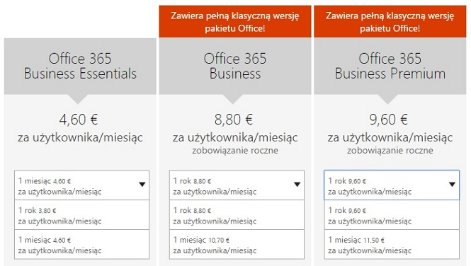 Office 365 w home.pl - ceny w Microsoft