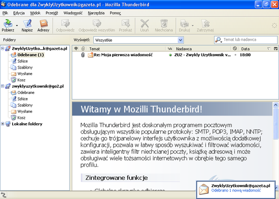 thunderbird 3.1.20 mac